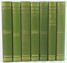 Lot with 7 books from the series 'The Loeb Classical Library' - 1947/1961