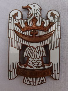 Silesian Eagle, 1st class, 1st level variant with white enamel