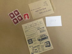 The Netherlands 1965/2016 - (Child) relief stamps in original bags/envelopes with rebus