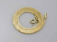 18k Gold Necklace. Chain - 40 cm. No reserve price.