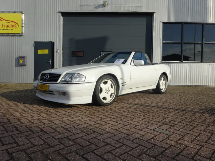 Mercedes-Benz - SL500 with AMG and Brabus options - 1992