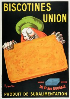 Leonetto Cappiello - Biscotines Union - 1920s
