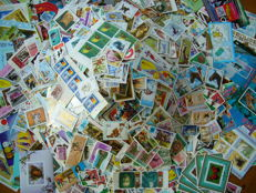 World - Theme batch of over 10,000 stamps and blocks
