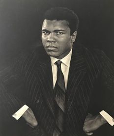 "Yousuf Karsh (1908-2002) - Muhammed Ali in ""under 30"" series, 1970."