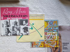 Lot of 74 New Wave & related styles with a.o. Roxy Music, Kim Wilde, Pretenders, Nik Kershaw,  Simple Minds, special items 'Virginia Plain', 'Landschap'