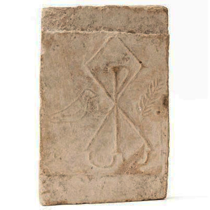Early Christianity Brick, 350 x 225 mm