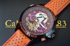 Calvaneo 1583 Astonia 'Silk Race' GT race automatic race watch
