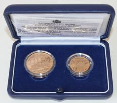 San Marino - 20 and 50 Euro 2003 - gold