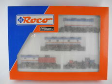 "Roco/Preiser H0-44130 - package of carriages ""Circus Williams"" the DB [509]"