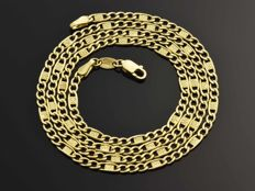 Chain in 18 kt gold. Length: 51 cm ***No reserve price***