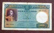 Portugal - 100 Escudos from 1941 - Ch.5 - Pick 150a