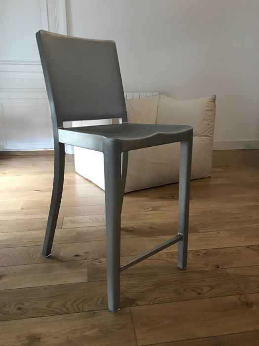 Terrific Philippe Starck For Emeco Hudson Bar Stool Catawiki Caraccident5 Cool Chair Designs And Ideas Caraccident5Info