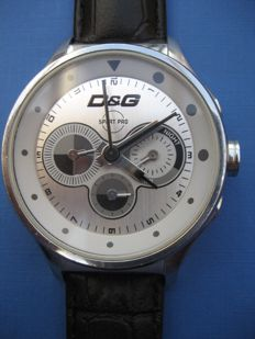 DOLCE  &  GABBANA men's chrono watch (2004)