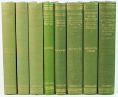 Lot with 8 books from the series 'The Loeb Classical Library' - 1946/1867