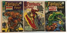 Marvel Comics - Fantastic Four - Issues #68, #69 & #70  - 1st Print - 3x SC - (1967/68)