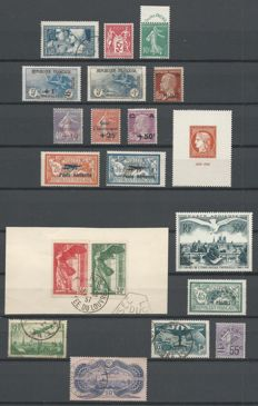 France 1924/1956 - Selection including Airmail