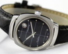 "Fortis ""True Line"" - Men's Vintage Wristwatch - circa 1950s"