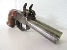 Chest pistol with two barrels 1840/50