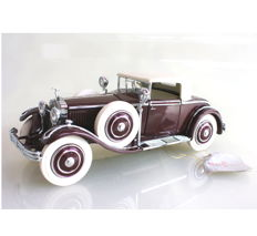 Franklin Mint - scale 1:24 - Hispano Suiza H6B Kellner 1925 with certificate B11TF74
