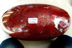 Very Large Red Brecciated Jasper Crystal Carving Healing Spirit Stone Lingam - 47 cm - 45 kg