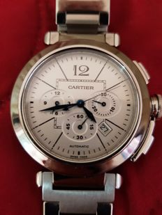 Cartier Pasha Chrono 42 Reference: W31085M7 - Men's wristwatch - 2013