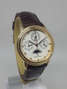 Blancpain Villeret 18k Gold Perpetual Moonphase Chronograph 5585 - Men's watch