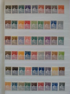 """Portugal 1912/1926 - Stamp Selection """"CERES""""."""