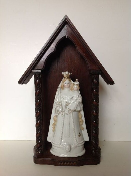 Authentic indoor chapel from Flanders - early 20th century