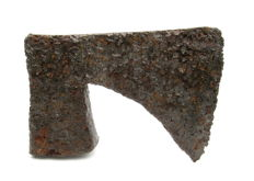 Medieval Bearded Iron Axehead - 111x148 mm