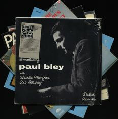 Great jazz lot of five in demand albums by Paul Bley (3), Roy Brooks and Tal Farlow (Verve, Japan)