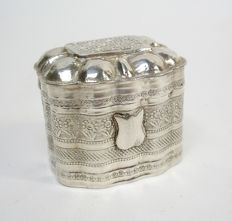 Silver scent box, The Netherlands, 1853