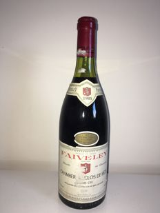1988 Chambertin Clos de Beze Grand Cru, Domaine Faiveley - 1 bottle