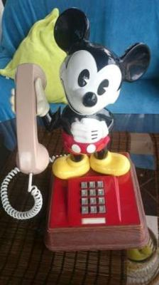 Disney, Walt - Phone - Mickey Mouse (1980's/1990's)