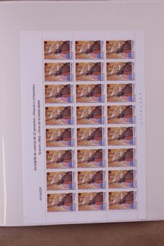 Europa Stamps 1992/1994 - Collection of sheets and sheetlets in a Lindner Flazlos T-type preprint album