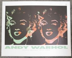 Andy Warhol - Double Marilyn 1979, 1986
