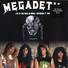 Lots Of 4 Live Albums All on 180 Grams HQ Vinyl, Megadeth, Sao Paulo Do Brasil September 2nd 1995, Metallica ‎– Live At Hammersmith Odeon, London. September 21th 1986, AC/DC ‎– Paradise Theater Boston MA, August 21st 1978, Guns N' Roses ‎– Live In New Yo