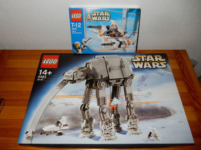 Star Wars - 4483 + 4500 - AT-AT + Rebel Snowspeeder