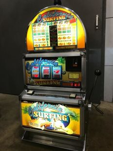 CALIFORNIA SURFING One-armed Bandit from the fairground