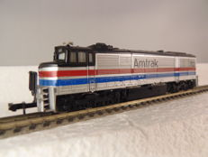 Minitrix N - 12010 - Diesel-Locomotive U-30-CG of Amtrak