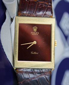 Rolex Cellini 18K Solid Gold 1600 Unisex 90's