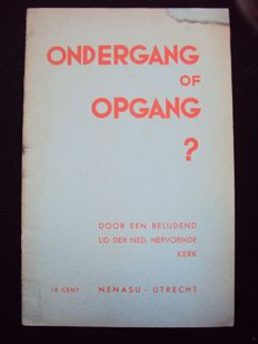 Reformed church - Ondergang of opgang? - 1936
