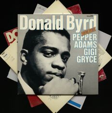 Donald Byrd (Pepper Adams & Gigi Gryce) lot of four outstanding albums