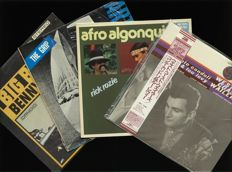 "Unique lot of four in demand avant-garde jazz albums incl. Arthur Blythe ""The Grip"" [USA LP 1977 India Navigation N 1029] Benny Bailey ""Big Brass"" {IT LP Candid] Afro Algonquin [GER Moers] Conte Candoli & Lou Levy [Japan, Alantic]"