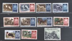 San Marino - Selection of stamps of the era