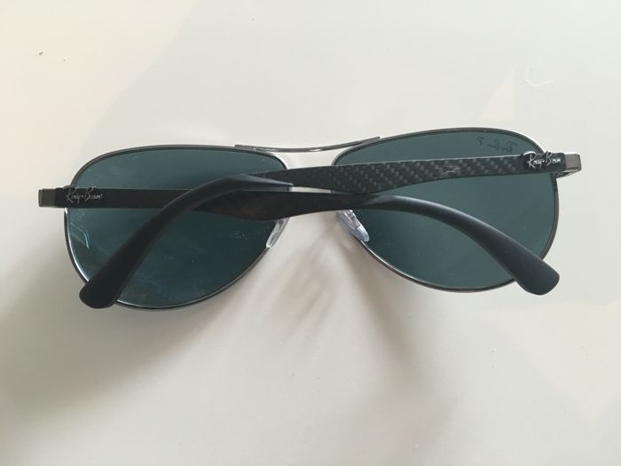 330f94c83e Mens Unisex Rayban - Ray-Ban - Carbon Fibre - Polarised Sunglasses