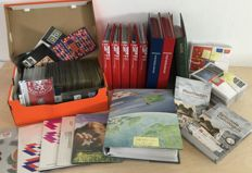 The Netherlands - Ecu and Tele letters, stamp booklets, FDCs, year packs, NVPH catalogue
