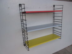 A. Dekker by Tomado – bookshelf/wall rack in the authentic colours