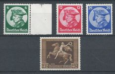 German Empire 1933/1938 - Reichstag and Brown band - Michel 479/481 + 671x