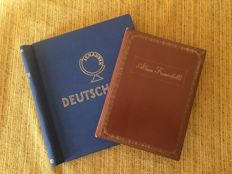 DDR 1949/89 - Small collection on two albums