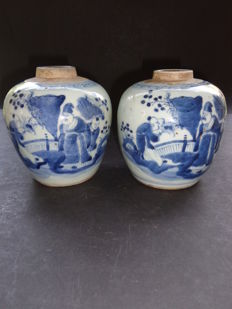 Two ginger jars - China - 19th century